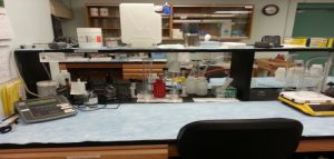 cBOD and BOD Analysis area