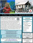 Sky blue backgrounds on all the boxes and black text. Dover Township York County Pennsylvania Winter Season 2019 Volume 3 Issue 5. Please click this image to download a full PDF copy of the Winter 2019 Newsletter.